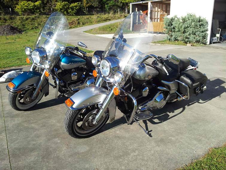 pair of Harley Road Kings